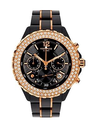 K&BROS 9171-1 / Reloj de Señora  con brazalete metálico negro