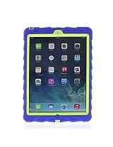 Gumdrop Cases Drop Tech Rugged Case for Apple iPad Air (Royal Blue-Lime)