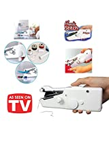 Dealcrox Portable Cordless Electric Sewing Machine Handheld Handy Stitch Set HHI-355327