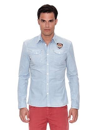 Pepe Jeans London Camisa Dub (Azul Claro)