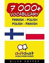 7000+ Finnish - Polish Polish - Finnish Vocabulary (ChitChat WorldWide) (Finnish Edition)