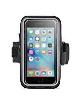 Belkin Storage Plus Armband for iPhone 6 Plus and iPhone 6s Plus - Retail Packaging - Black