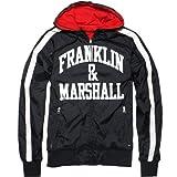 FRANKLIN&MARSHALL(フランクリン&マーシャル) リバーシブルアーチロゴブルゾン BLACK