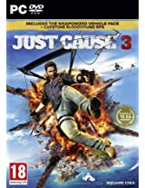 Just Cause 3 - Day 1 Rocket Launcher Edition with Capstone Bloodhound RPG (PC DVD)