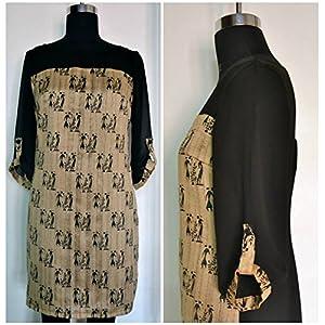Tiara by Roshini Shah Tribal Tunic Dress