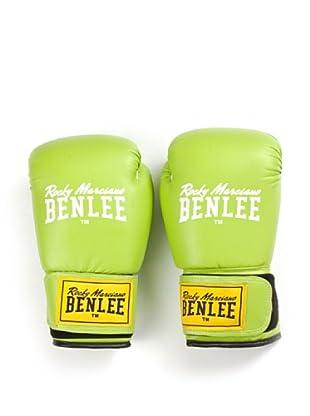 Benlee Guantes Pu Training Rodney (Verde / Blanco)
