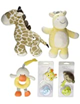 Carters Cute and Cuddly Toy Gift Set (Discontinued by Manufacturer)