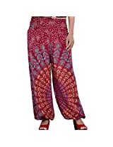 Indi Bargain Rayon Women's Casual Pants - (IBLS009M)