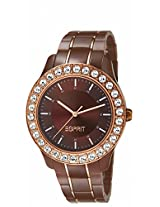 Esprit Analog Brown Dial Women's Watch - ES106252004-N