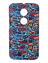 iAccy Alicia Souza Super Hero's Case for Moto X2