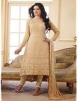 Latest Designer Saddle Brown Karachhi Salwar Suit(JM-9)