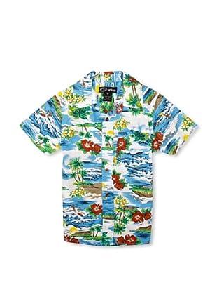 Pumpkin Patch Camisa Tropical (Multicolor)