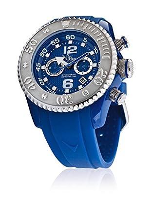 Vip Time Italy Uhr mit Japanischem Quarzuhrwerk VP5051BL_BL blau 47.00  mm