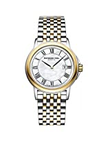Raymond Weil Analogue White Dial Women's Watch - 5966-STP-00970