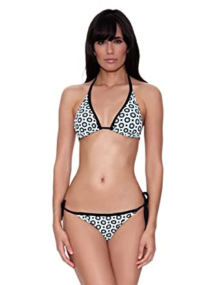 Bikini Savannah (Negro / Turquesa)
