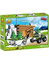 COBI Blocks Small Army #2323 Mountain Hideout by COBI
