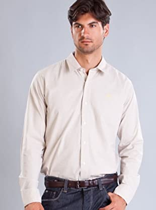 Timberland Camisa Rayas (Blanco / Amarillo)