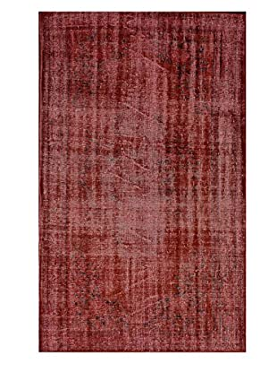nuLOOM One-of-a-Kind Vintage Hand-Knotted Overdyed Rug, Gladiola, 5' 4