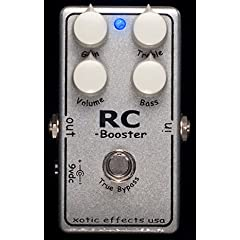 Xotic RC Booster Silver Glitter