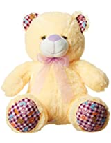 Dimpy Stuff Bear with Paws, Cream (43cm)