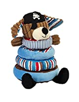 Maison Chic 90510 Patch The Pirate Dog Stacking Toy, 8.5 In. Tall