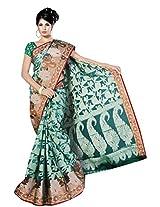 Saree Sansarr Saree (6032_Green)