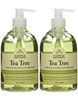 Clearly Natural Tea Tree Liquid Glycerine Soap, 12 Ounce (Pack of 2)