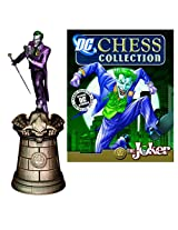 DC Superhero Joker King Chess Piece with Collector Magazine