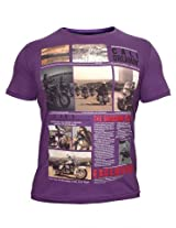 California Bike Purple T-Shirt