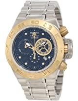 Invicta Men's 10144 Subaqua Noma IV Chronograph Black Textured Dial Watch
