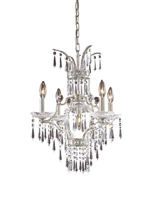 Artistic lighting 5-Light Chandelier, Sunset Silver