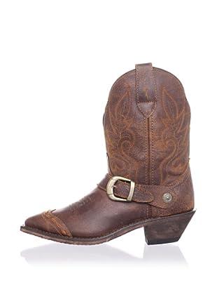 Dingo Women's Strap Cowboy Short Boot