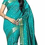 Women kanjivaram Tussar Silk Saree