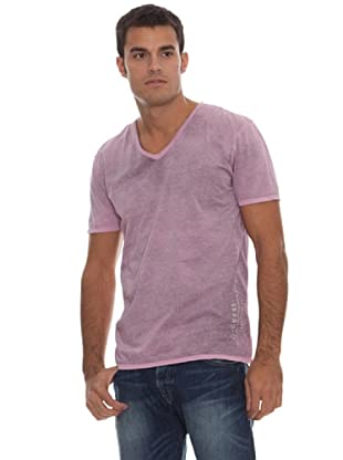 Guess Camiseta Pico (Rosa)