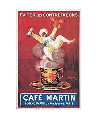 Artopweb Panel de Madera Cafè Martin 1921