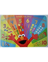Sesame Street Elmo Loves Counting Placemat