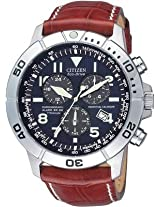 Citizen Eco Drive Analog Watch For Men Brown BL5250 11L