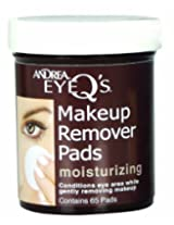 Andrea Eye Q s Moisturizing Eye Make-up Remover Pads