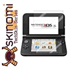 Skinomi® TechSkin - Nintendo 3DS XL Screen Protector Premium HD Clear Film / Ultra High Definition Invisible and Anti-Bubble Crystal Shield with Free Lifetime Replacement Warranty - Retail Packaging