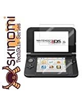 Skinomi Nintendo 3DS XL Screen Protector (with Free Lifetime Replacement Warranty - Retail Packaging)