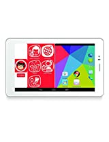 Micromax Canvas Tabby P469 Family Tablet (White, WiFi+3G, Dual Sim,8GB, voice calling)