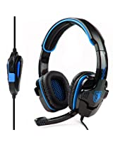 SA 708 Stereo Gaming headsets with Foldable Mic