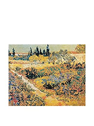 ARTOPWEB Panel Decorativo Van Gogh Garden In Full Bloom