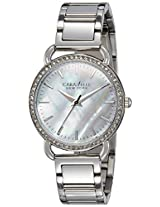 Caravelle New York  Analog Silver Dial Women's Watch - 43L184