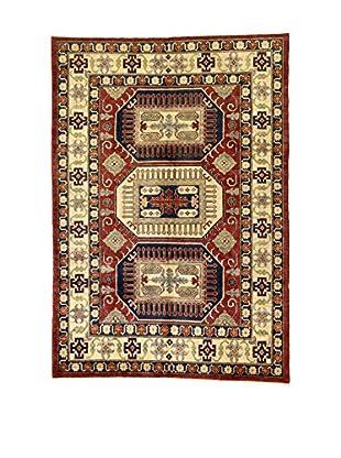 L'Eden del Tappeto Teppich Uzebekistan rot/mehrfarbig 192t x t304 cm