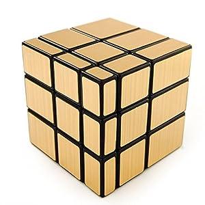 Shengshou 3x3 Mirror Cube Gold Color