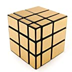 Shengshou 3x3 Mirror Cube Gold Color