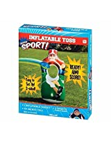 Inflatable Double Sided Sports Toss Indoor Outdoor Play Throwing Party Game
