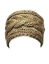 AllyDrew Winter Knit Headband, Khaki