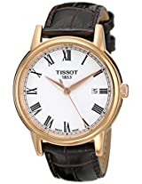 Tissot White Dial Analogue Watch for Men (T0854103601300)
